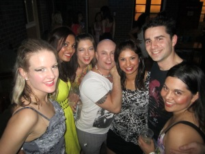 The Bachata Project Team having fun
