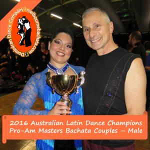 Tony Barton and Lisa Madeira National Champions