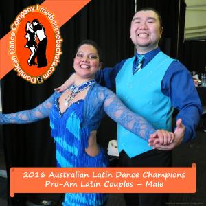 Charlie Shi and Lisa Madeira National Champions
