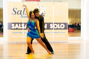 Shaun Ellison and Lisa Madeira - Club Bachata in Melbourne